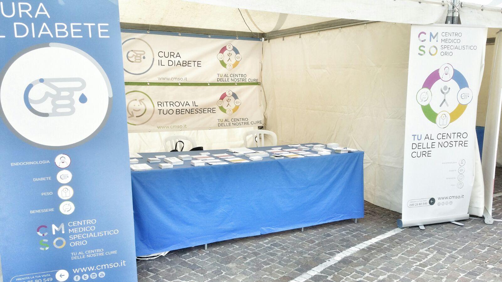 Il CMSO al Campus della Salute dal 18 al 20 settembre in Piazza Cavour a Salerno